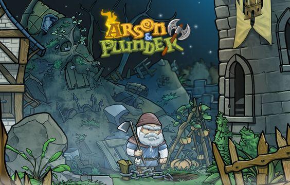 Arson & Plunder videogame