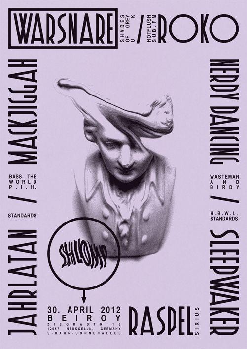superquiet: Shlomp / Poster / 2012