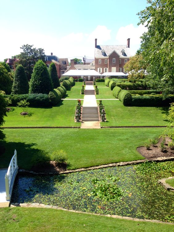 Paca house and garden Annapolis MD Pinterest Gardens and House