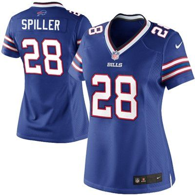Nike C.J. Spiller Buffalo Bills Ladies The Limited Jersey - Royal Blue