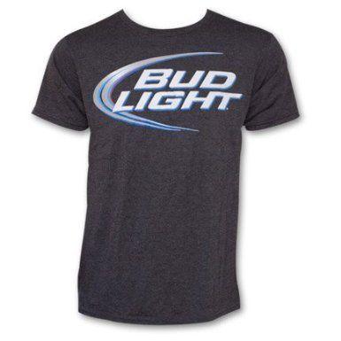 Bud Light Graphic Logo Men's Adult T-Shirt:Amazon:Clothing