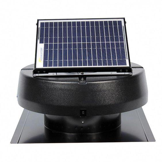 Us Sunlight Solar 9915tr 1 900sq Ft Ventilating Solar Attic Fan In 2020 Solar Panels Solar Energy Diy Solar Energy Panels