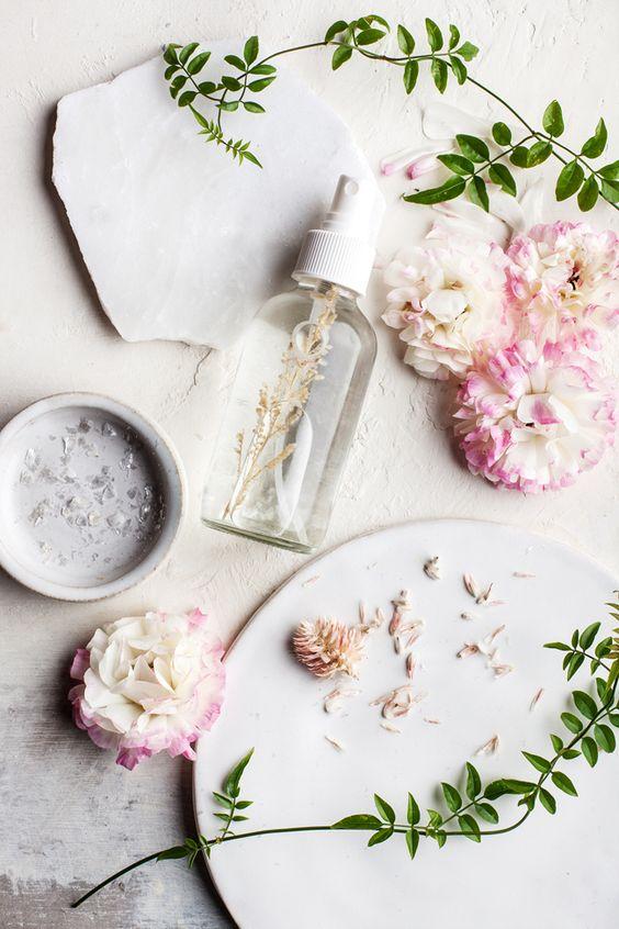 Homemade Jasmine Aloe Perfume Body Spray…