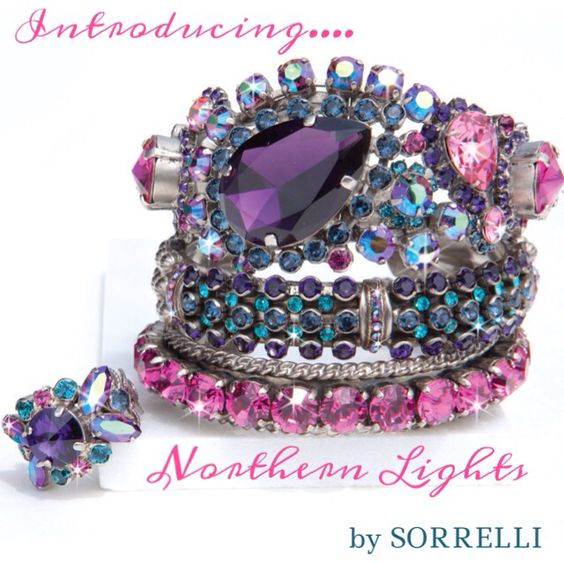 """Northern Lights"" collection by Sorrelli! Winter 2013"