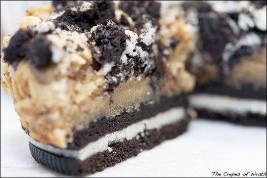 Peanut Butter Cheesecake Oreo Bites