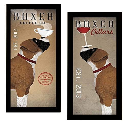 Boxer Cellars Ryan Fowler Advertisements Vintage Ads Dogs Wine Print Poster