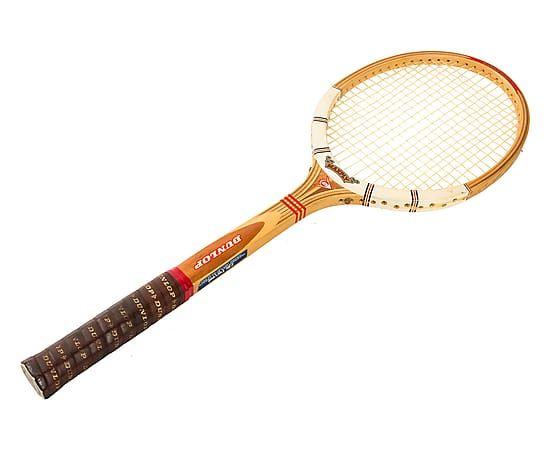Racchetta da tennis anni '70, 68x23x31 cm 29e