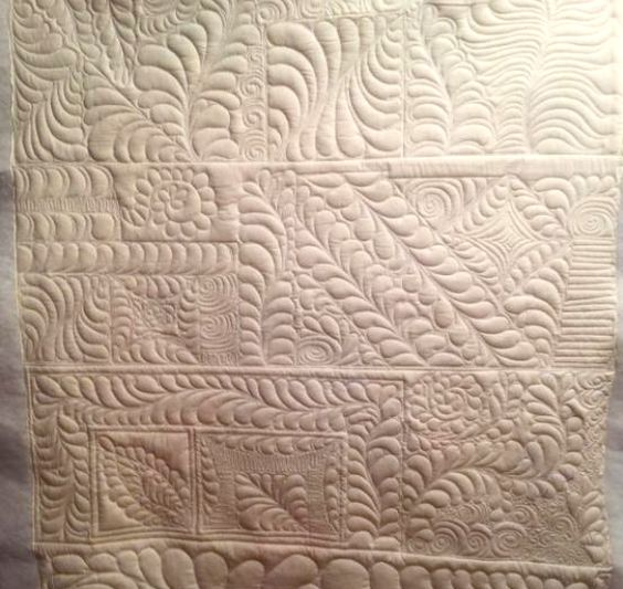 Feather Quilting