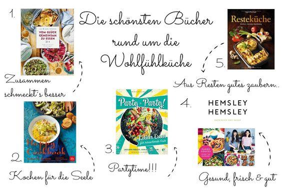 Bücher für die Wohlfühlküche, Hemsley & Hemsley, Vom Glück gemeinsam zu essen. Büchertipps, gute Bücher, Partyrezepte, Resteküche, Reste Rezepte, Happy Food
