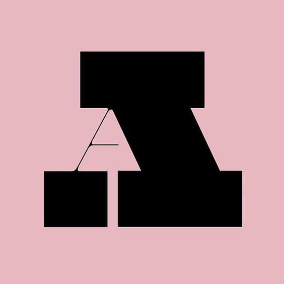 Letra-A   #36daysoftype #36days_a #typography