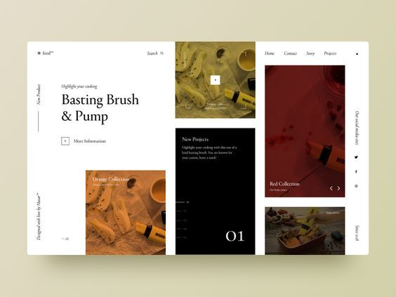 Pin By Rowen Durban On Web Web Layout Design Website Design Layout Typography Book Layout