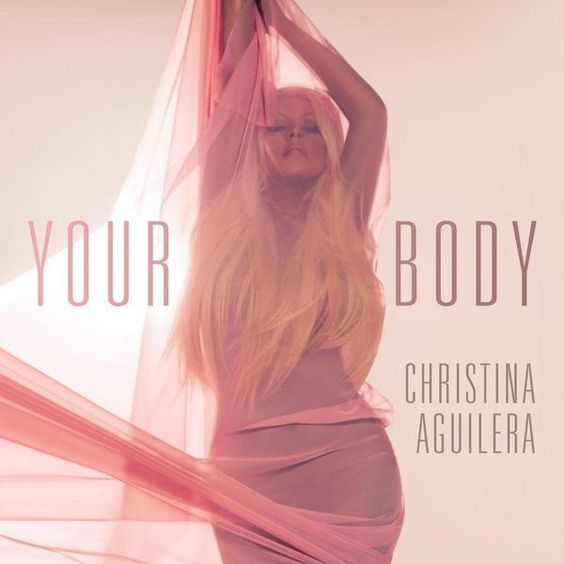 Christina Aguilera – Your Body (single cover art)
