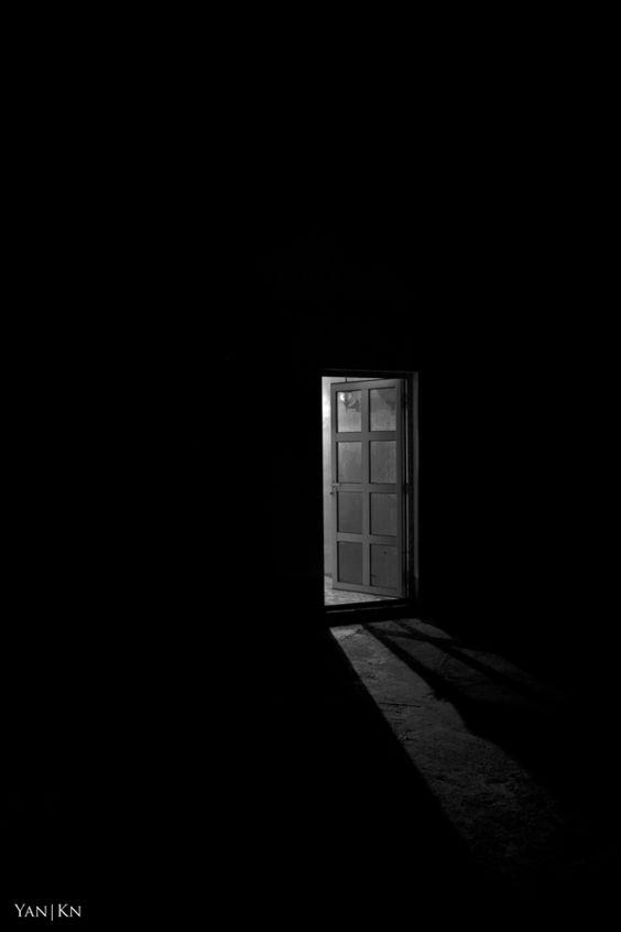 Lonliness, Hope, Doorway, Dark, Light... what do you see?