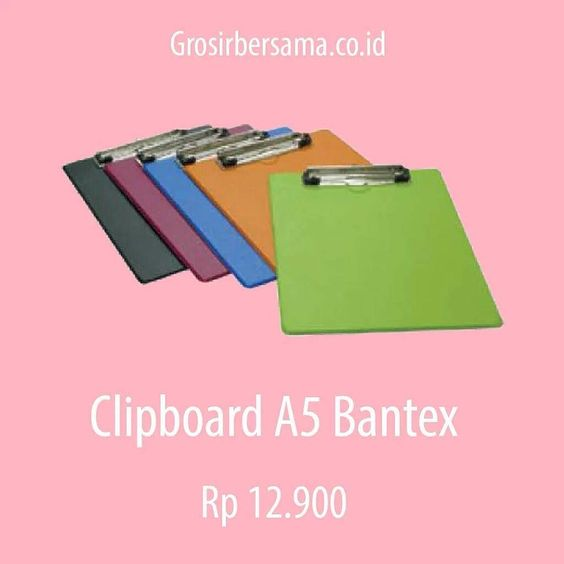 Clipboard A5 Bantex 4206 __ #bantex #paperclip #grosiralattulis #grosiralattulisfancy #grosirasemka #clipboard #grosirfancy #grober  #grosirbersama  #startup  #startupindonesia  #ecommerce  #ecommerceindonesia  #onlineshopping  #grosironline by grosirbersama