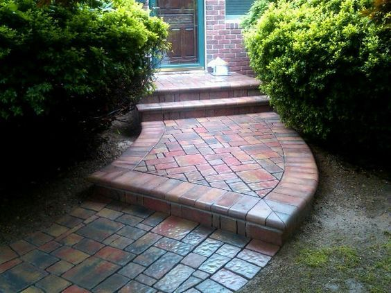 Walk up to your door in style with a Cambridge Walkway. Customize yours today!