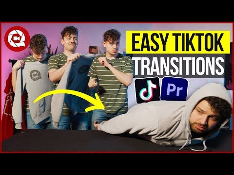 4 Crazy Transitions From Tiktok Premiere Pro Youtube Premiere Pro Premiere Pro Tutorials Premiere