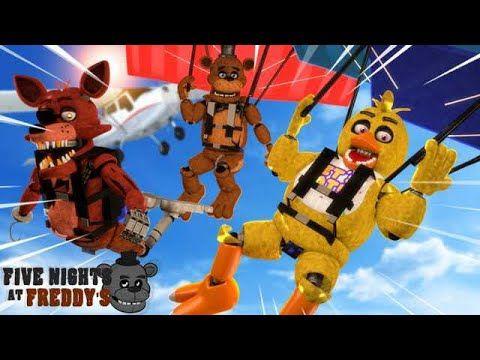 Os Animatronics Pularam De Paraquedas Five Nights At Freddy S