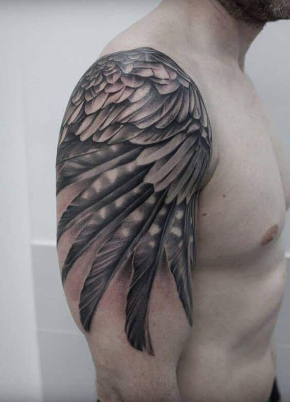 Wing Tattoos For Men Wing Tattoo Men Wings Tattoo Wing Tattoo On Shoulder