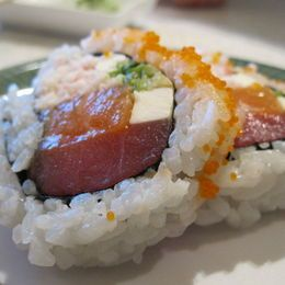 Sushi close up: Fusion Philly