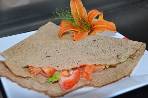 A B C vos IG: Galette de sarrasin et sa salade fraîche à la trui...