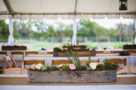 Alabama wedding with succulents by morgan trinker table