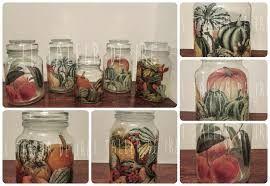 Resultado de imagen para frascos decorados para cocina