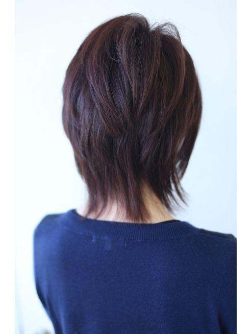 モテ髪 中島美嘉風ゆるふわウルフカット L002418537 キャパ Capa のヘアカタログ ホットペッパービューティー 美髪 モテ髪 ビューティー