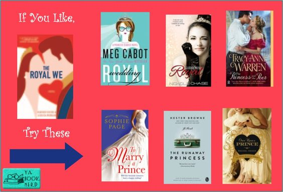 If You Like...Royal We, check out these other royal reads: