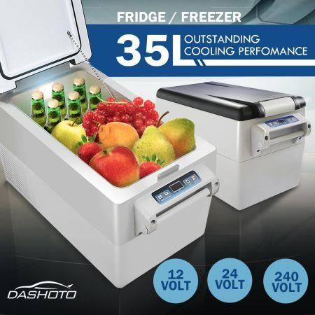 35l Portable Fridge Freezer Cooler 12v 24v 240v Caravan Boat Camping Fridge Fridge Price Portable Fridge Camping Fridge