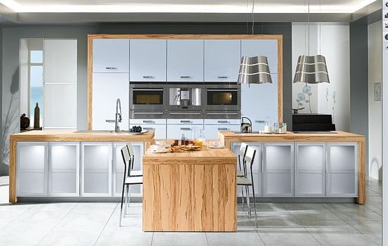 This kitchen keeps it simple along with making it a stay-at-home chefs dream - www.remodelworks.com #chef #kitchen #simple