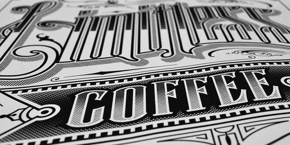 Great typography poster by @palehorsedesign for @7eleven.
