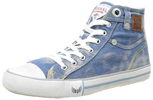 Kaporal  Icarus,  Damen Sneakers , Blau - Blau - Bleu (Bleu Clair Denim) - Größe: 41 - http://on-line-kaufen.de/kaporal/41-kaporal-icarus-damen-sneaker