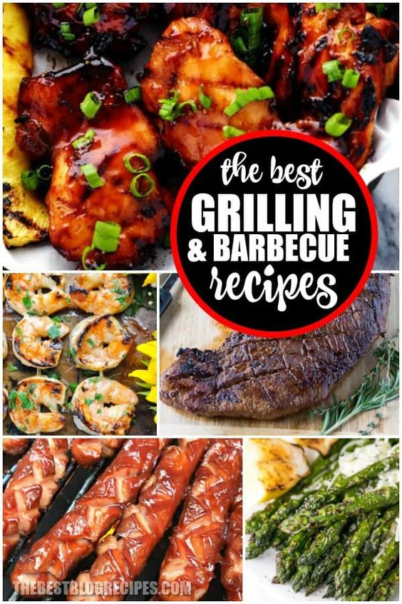 Best BBQ/Grilling Recipes ♡ The Best Blog Recipes