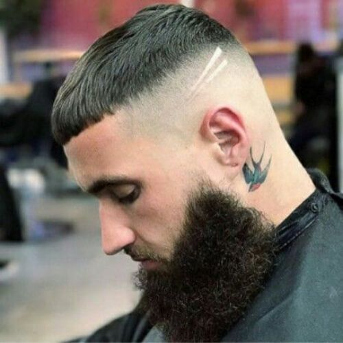 50 Trendy Bald Fade With Beard Ideas Beard Hairstyle Hair Styles Long Hair Styles