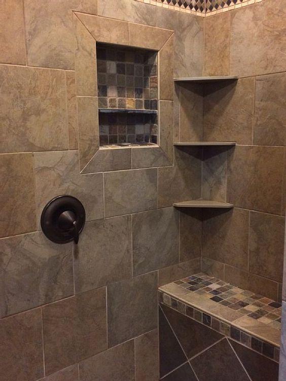 Meer Dan 1000 Idee 235 N Over Master Shower Tile Op Pinterest