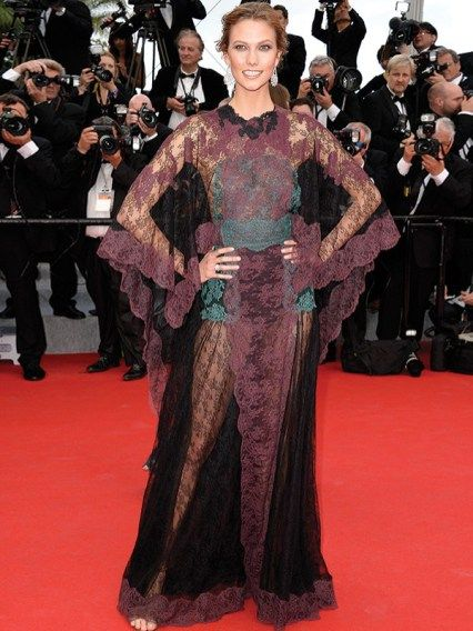 Karlie Kloss in Valentino - Cannes 2014