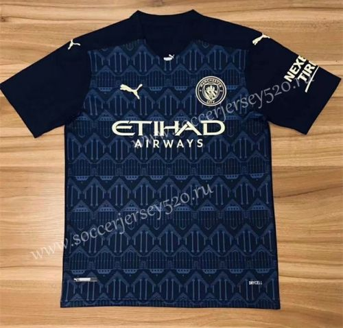 2020 2021 Manchester City 2nd Away Royal Blue Thailand Soccer Jersey Aaa In 2020 Soccer Jersey Manchester City Soccer