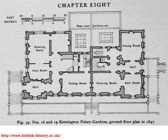 Kensington Palace 1a Floor Plan Pinterest The World S