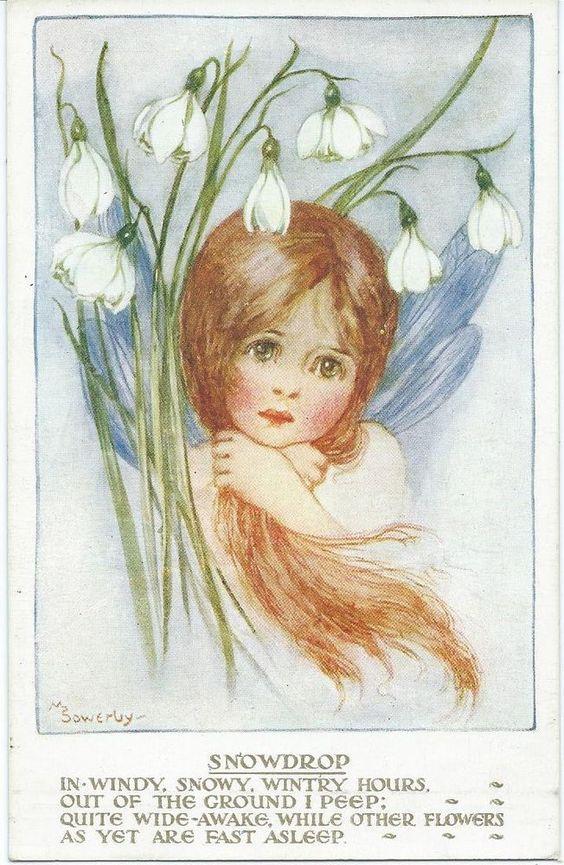 Millicent Sowerby    Snowdrop Fairy: