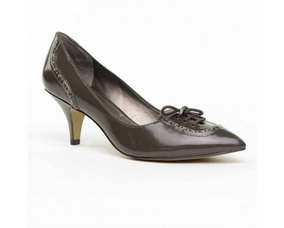 Circa Joan & David Austero Pump - Grey Leather