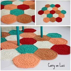 Crochet: Alfombras de trapillo uniendo muestras | Decoración