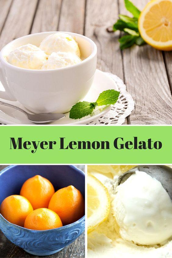 Sep 3 Meyer Lemon Gelato | Final Days, Gelato and Finals