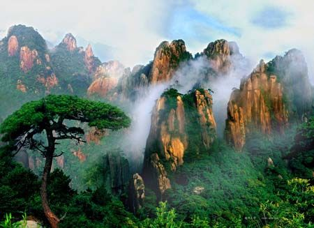 Mountains of western China