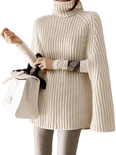 51 Poncho Pullovers Sweater To Wear Asap outfit fashion casualoutfit fashiontrends