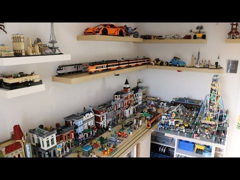 Lego Room Tour 2017 Behind The Scenes Youtube