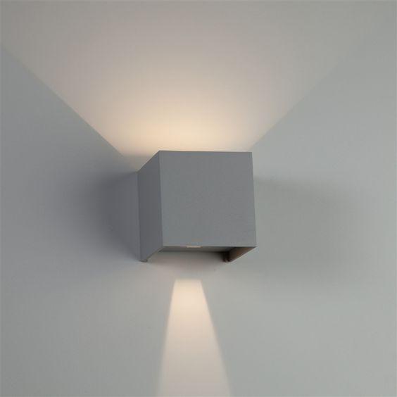 Led Garage Lights Sam S Club: Absinthe Zenith LED Wandverlichting Buiten