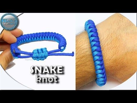 World Of Paracord How To Make A Paracord Bracelet Snake Knot 2