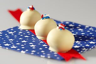 American Oreo cookie balls -- Fourth of July fun: