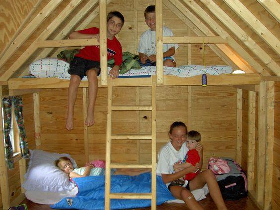 Playhouse inside playhouse kids cabin kidstuff for Kids cabin playhouse