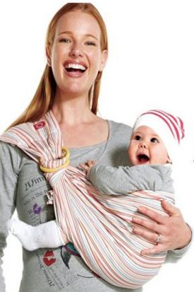 Ever wondered why the ring sling baby carrier has increased in popularity over the past few years?